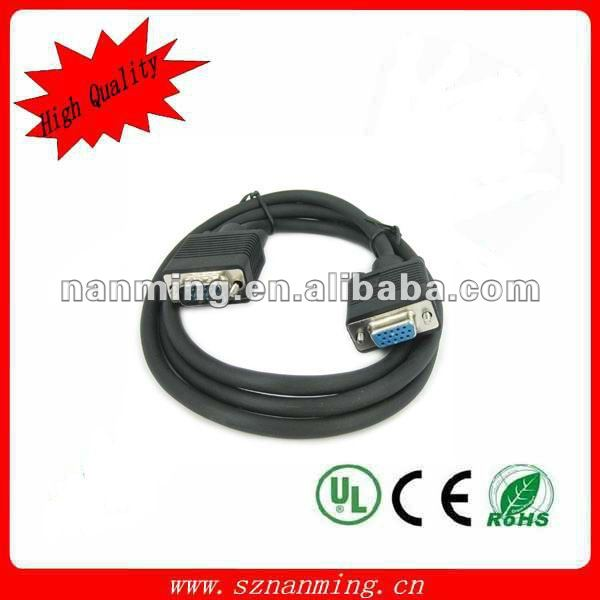 VGA CABLE 15m high speed with two ferrite cores