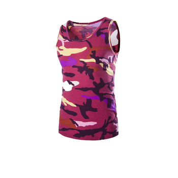 100% ring spun cotton camouflage soft sleeveless shirt mens vest