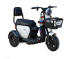 Cheapest Price China Factory Wholesale 500W 48volt 60V20ah Adult 3 wheel electric scooter motorcycle recumbent trike
