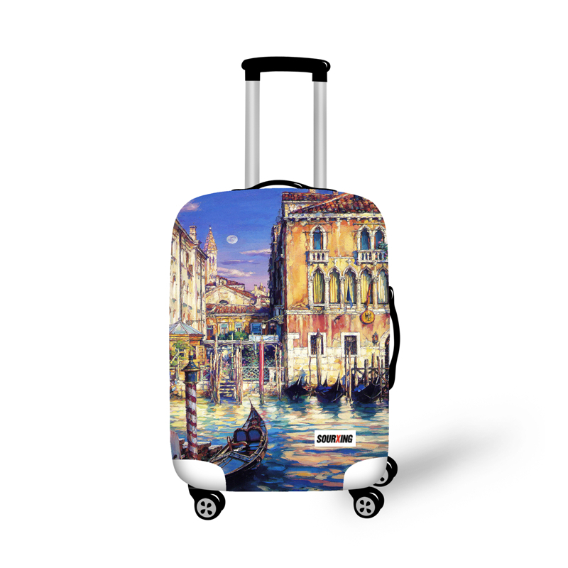 Trolley Cover bag with Printing Design Series K Different size Available