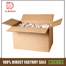 Professional manufacture custom made disposable corrugated box