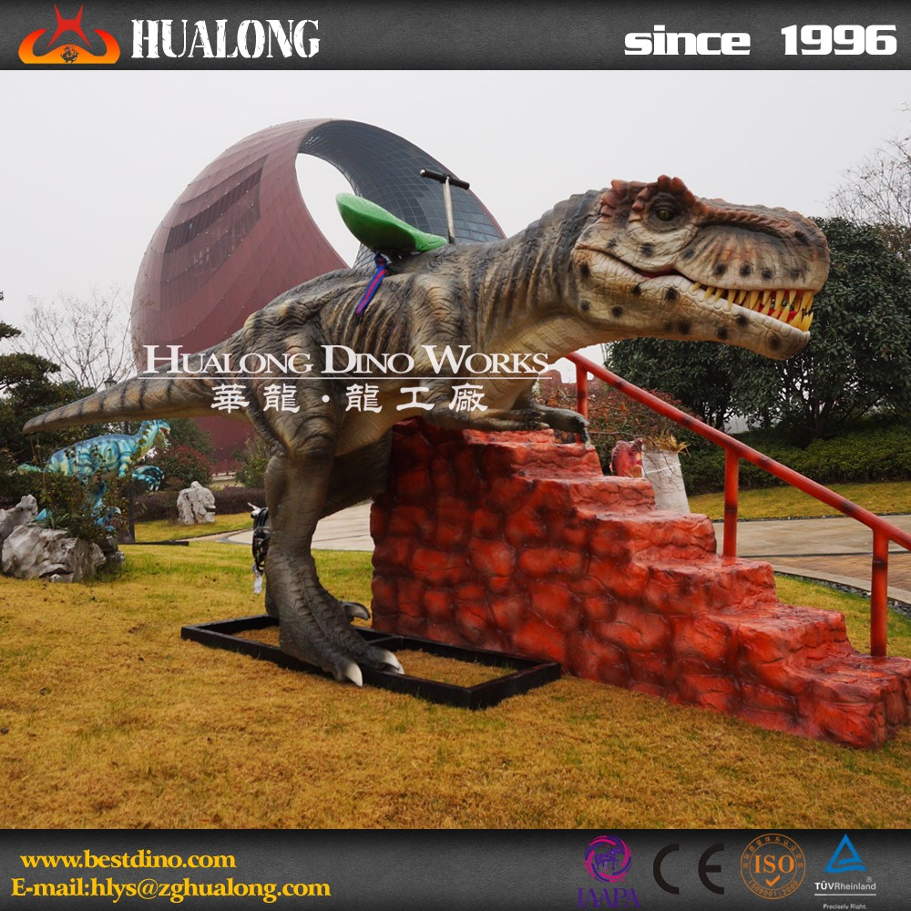 New Kids Amusement Rides of Walking Dinosaur