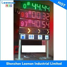 led oil station sceen gas price LEEMAN RGB prayer time display
