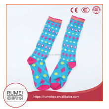 school girl knee high tube sock wholesale young teen custom socks