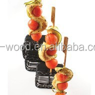 Bamboo Skewers are eco-friendly and colourful