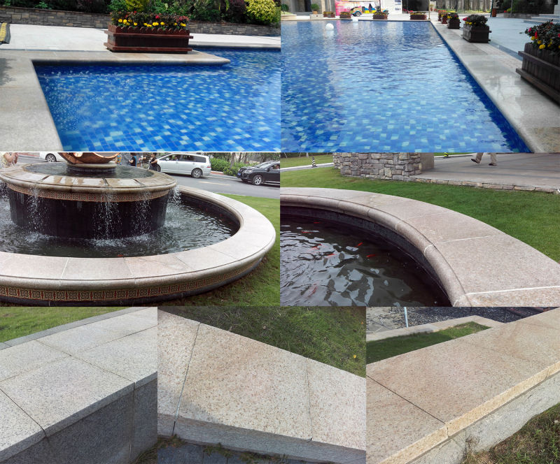 Yellow Color G682 Granite Cheap Patio Paver Stones For