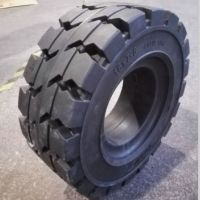 forklift solid rubber tires for heavy lift trucks 18*7-8, 18x7-8