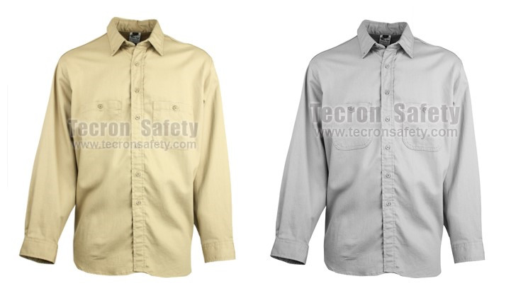 Tecron Safety Flame Retardant Antistatic Cotton Shirt / FR Antistatic Cotton Shirt