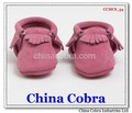 soft sole leather baby moccasins shoes ,fashion bow moccasins