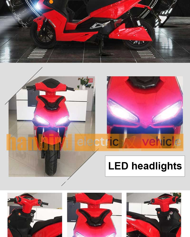 3000w Adult High Speed Electric Motorcycles for USA Market