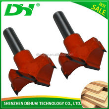 DH Brand Cheapest Solid Carbine Fir-Tree Form Carbide Ball Nose Milling Cutter
