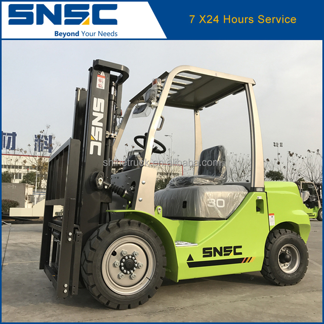 3 ton forklift price SNSC Diesel engine forklift for sale