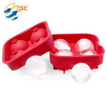 Wholesale Food Safety Custom Silicone ice Cream Ball