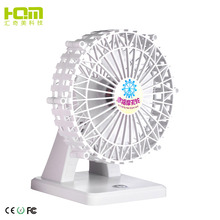 Top Sale White Ferris Wheel Shaped Table Fan Online For Travel