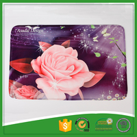 Large Flower Printed Anti-fatigue Floor Mat