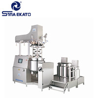 Cosmetic Lab Emulsifier Machinery Chemical Amp
