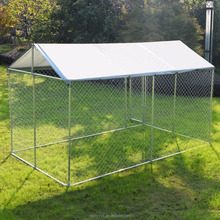 New Idea Dog Kennel Cover Tarp Pet Shade Outdoor Cage Shelter Waterproof & UV 2.3mx2.3mx1.22m