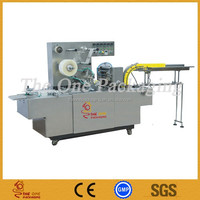 automatic Cigarette Box Transparent Cellophane Film Packing Over-wrapping Machine