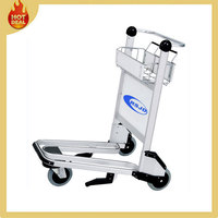 3 Wheels Aluminum Airport Trolley For