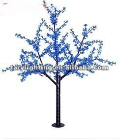 1188leds,2M,85W,2012 hot selling led Cherry tree light/ led christmas night lamp ,Rich colors(Red,Green,Pink,Blue,Yellow)