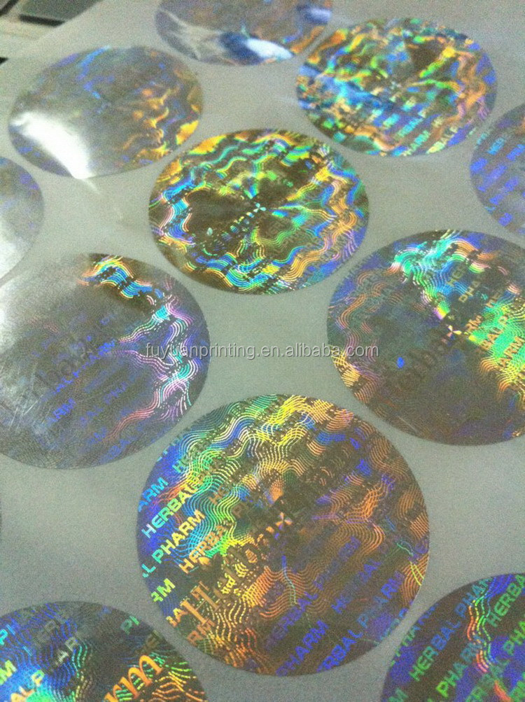 New style new products genuine security hologram sticker
