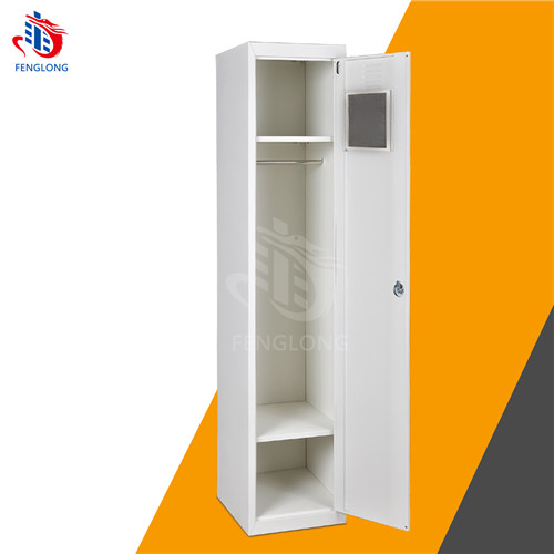 fenglong Foldable Wardrobe Cupboard,Single Door Metal Almirah