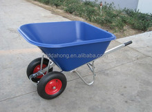 super large capacity plastic tray wheelbarrow 140L manufacturer