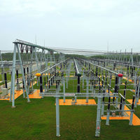 Structural Steel for Transformer Substation