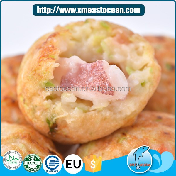 Factory price cooked delicious Japanese food frozen roasted octopus ball