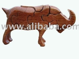 3d wooden puzzle_Billy Goat