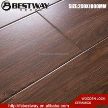 Firebrick wooden imitation ceramic for wall and floor 200x1000mm tiles