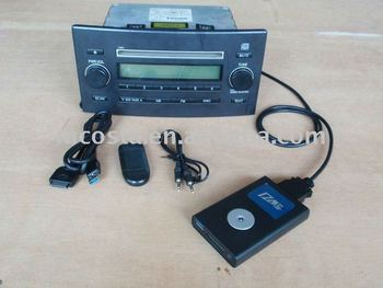 (DMC-20198) Car mp3 player Bluetooth/AUX/USB/SD (CE approval)