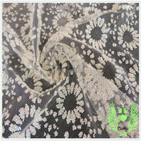 china alibaba wedding lace fabric with sequin