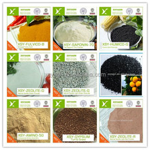 potassium humate humic acid amino acid powder fertilizer sphagnum peat moss zeolite seaweed extract tea seed meal