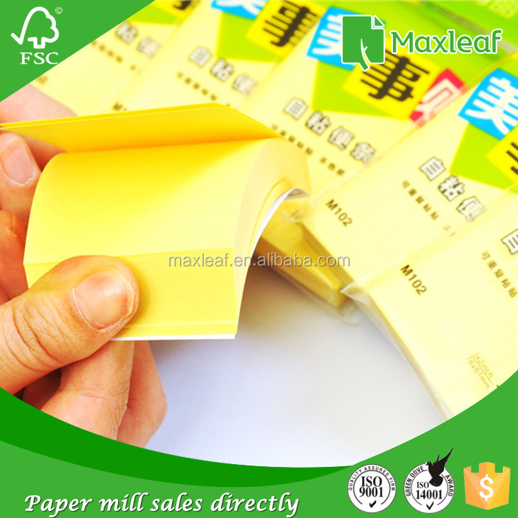 China express 75gsm 400sheets assorted color sticky note