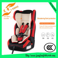 Child car seat, inflatable baby care car seat for group 0-5years with adjustable incline