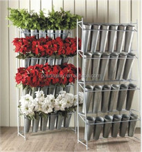 standing flower pot racks artificial flower display racks
