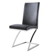 Modern Z shape dining chair