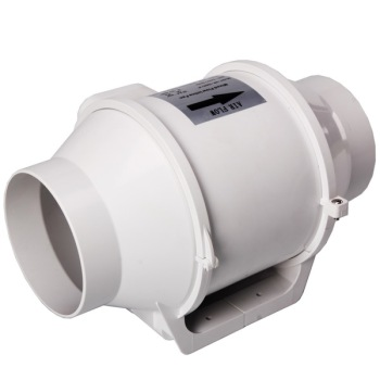 Hydroponics grow room duct inline fan 6""