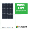 Bluesun best solar panel 75w 220V with good quality for sale