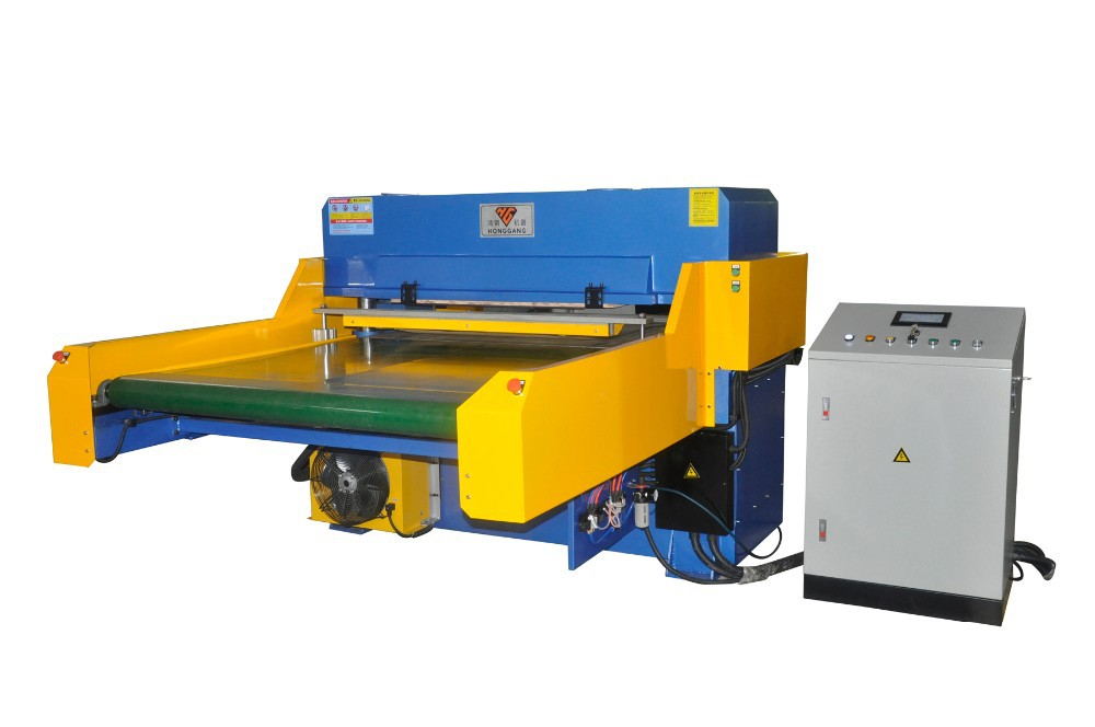 Automatic Hydraulic Die Cutting Machine with Conveyor Belt