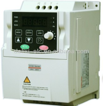 DELIXI new products 380v 3.7kw 3 phase inverter