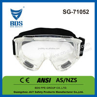 2015 Hot style glasses safety glasses with holes ,lens meet ANSI Z87.1 CE AS/NZS standard