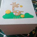 Large Canvas Storage Box, Basket and Bin, Nursery and Toy Organizer