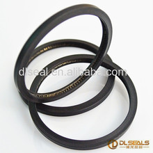Automotive scraper bearing PTFE seal ring