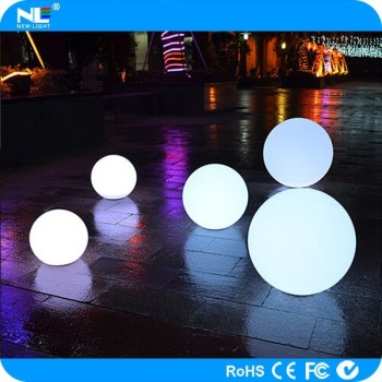 New product!!Shenzhen cheap color changing waterproof floating led light ball / rgb led ball/led swimming pool ball