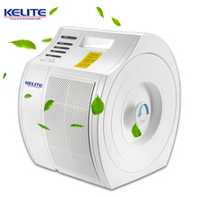 Portable ionizer HEPA filter air cleaner electronic home air purifier