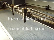 2012 best new Rabbit HX-1690SG fabric laser cutting machine with double head 80W