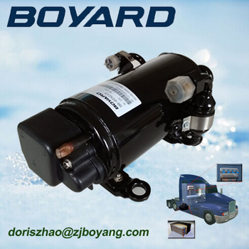 kit conditioned air R134A boyang 48v dc air conditioner compressor 12000btu
