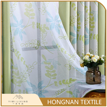 Oem modern printed design new voile prices and models curtains